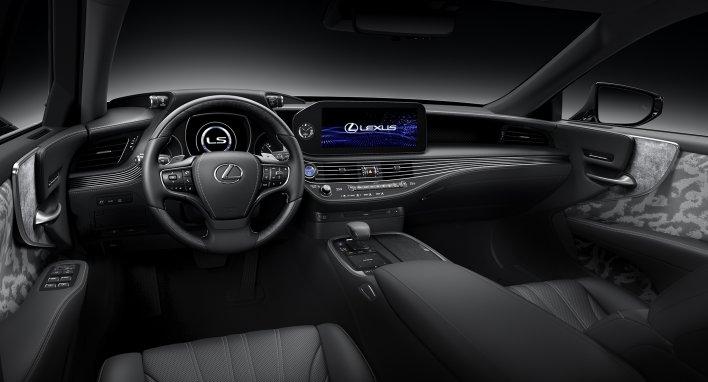"""Rankų darbo grožis naujajame """"Lexus LS"""""""